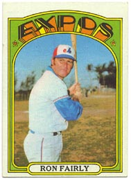 1972 Topps Baseball Cards      405     Ron Fairly